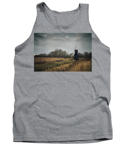 Tank Top featuring the photograph Windpump by James Billings