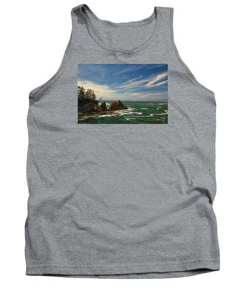 Windswept Day Tank Top by Tom Kelly