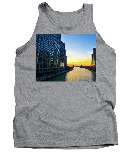 Windy City Sunrise Tank Top