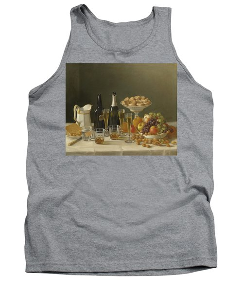 Wine, Cheese, And Fruit Tank Top