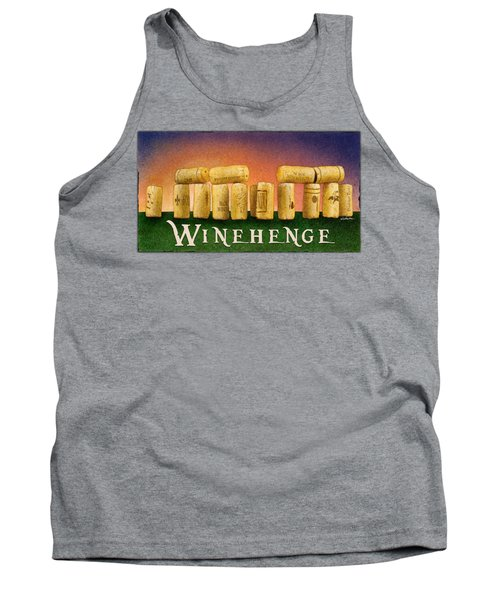 Winehenge Tank Top