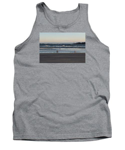 Wingaersheek Beach Seagulls At Sunrise Tank Top