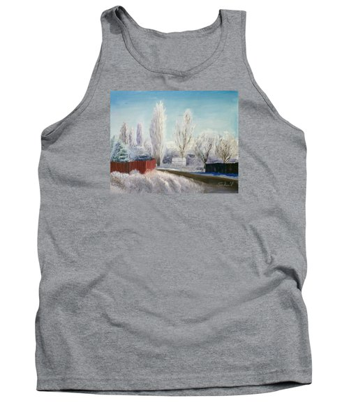 Winter At Bonanza Tank Top