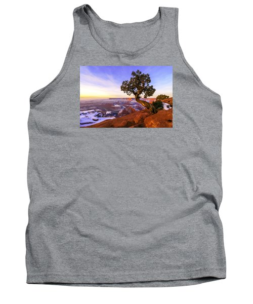 Winter At Dead Horse Tank Top