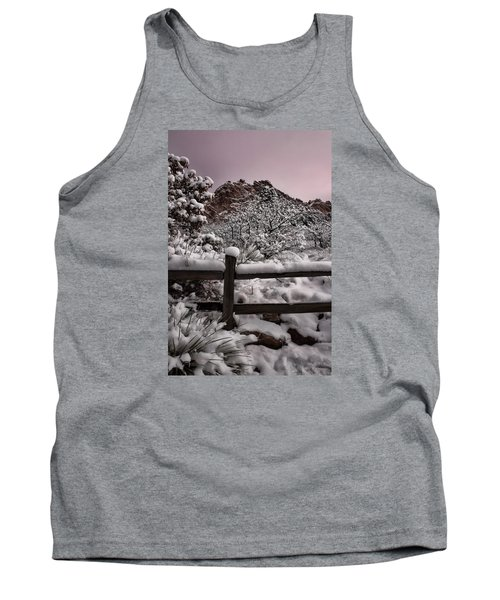 Tank Top featuring the photograph Winter At Garden Of The Gods by Ellen Heaverlo