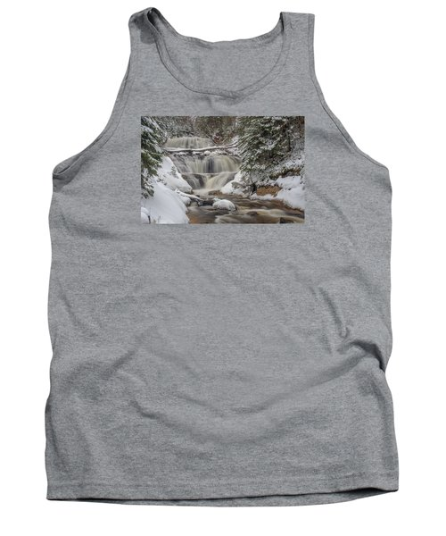 Winter At Sable Falls Tank Top