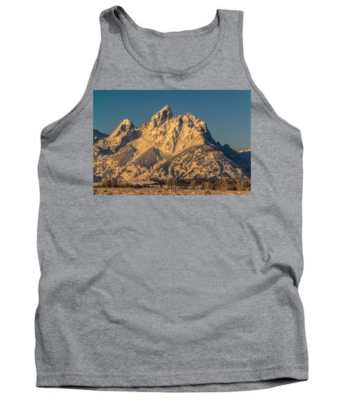 Winter At The Grand Tank Top by Yeates Photography
