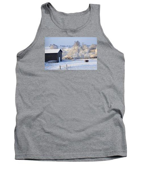 Winter Barn 1 Tank Top