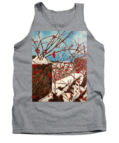 Winter Berries Tank Top