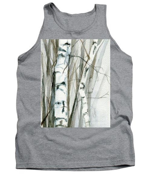 Winter Birch Tank Top