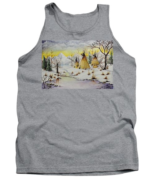 Winter Camp Tank Top