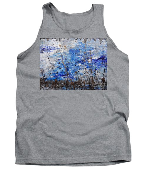 Tank Top featuring the painting Winter Crisp by Jacqueline Athmann