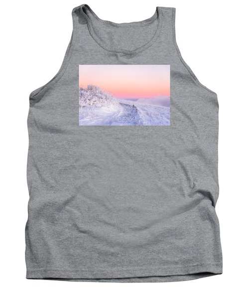 Tank Top featuring the photograph Winter Glow On Roan Mountain by Serge Skiba