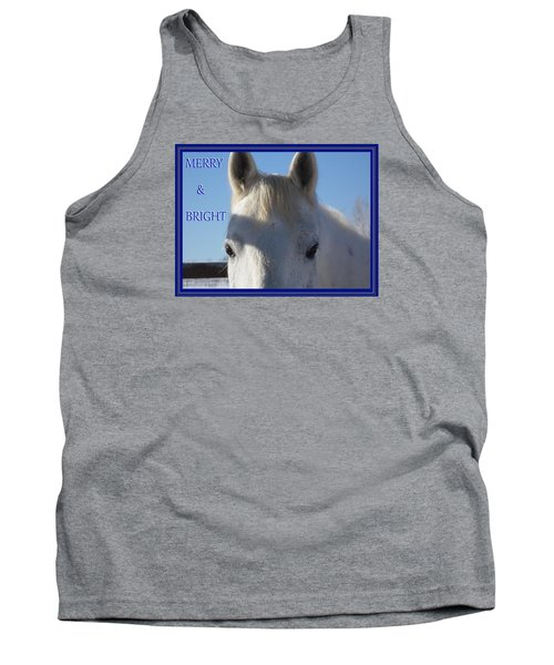 Winter Horse Christmas Tank Top