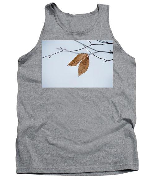 Winter Leaves Tank Top