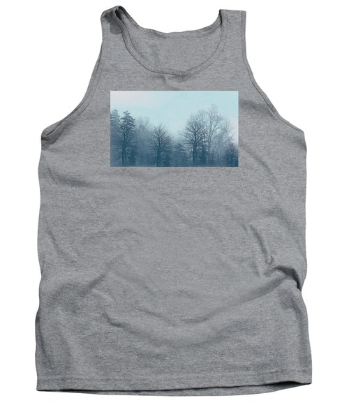 Tank Top featuring the digital art Winter Morning by Milena Ilieva