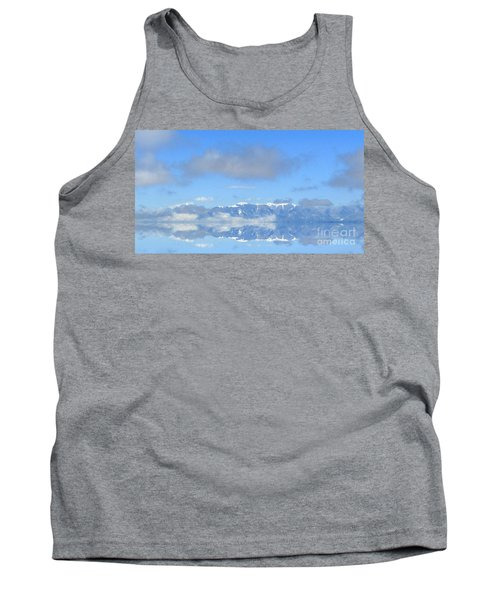 Winter On The Lake Tank Top