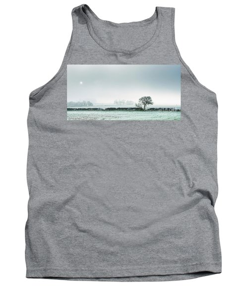 Winter On The Mendips Tank Top