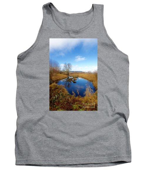 Winter Pond Tank Top by Sean Griffin