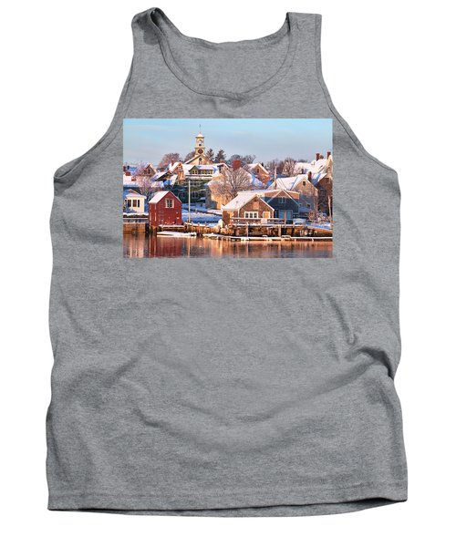 Winter Snowfall In Portsmouth Tank Top