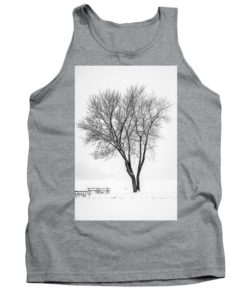 Winter Solitude Tank Top