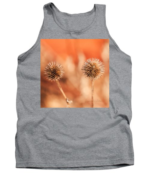 Winter Thistle Tank Top by Edward Peterson