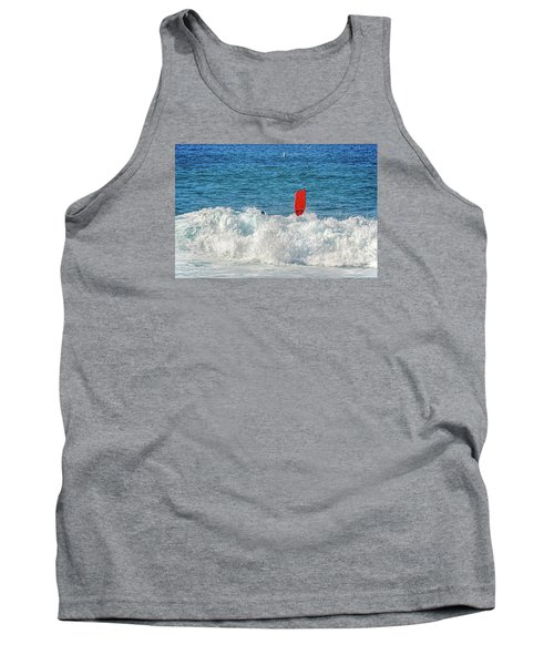 Tank Top featuring the photograph Wipe Out by David Lawson