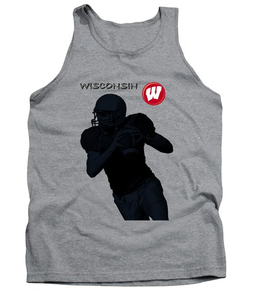 Wisconsin Football Tank Top