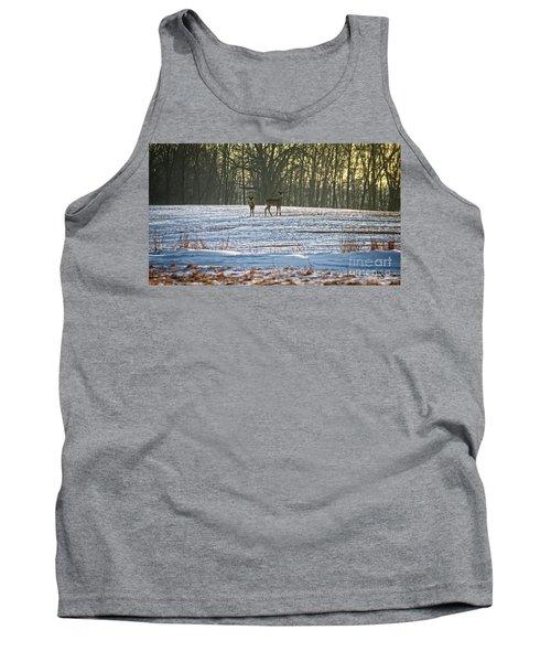 Wisconsin Whitetail Deer Tank Top