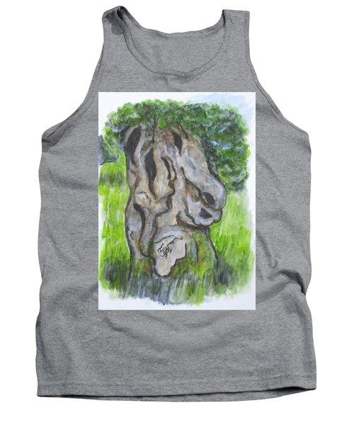 Wisdom Olive Tree Tank Top
