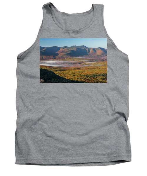 Wispy Autumn Tripyramid Sunrise Tank Top