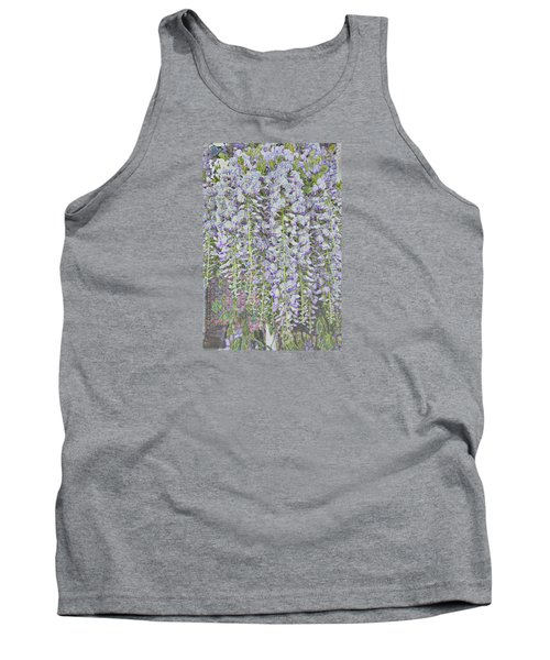 Tank Top featuring the photograph Wisteria Before The Hail by Nareeta Martin