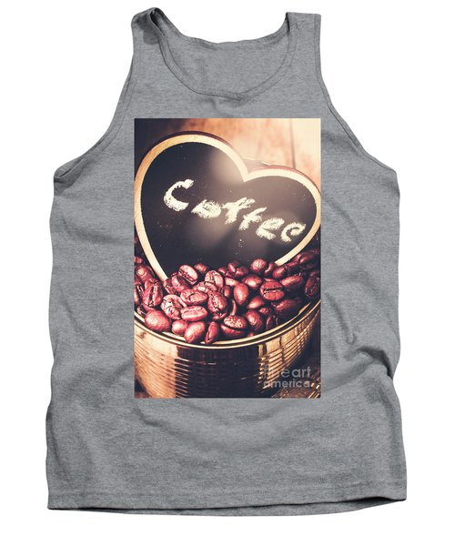 With Light And Coffee Love Tank Top