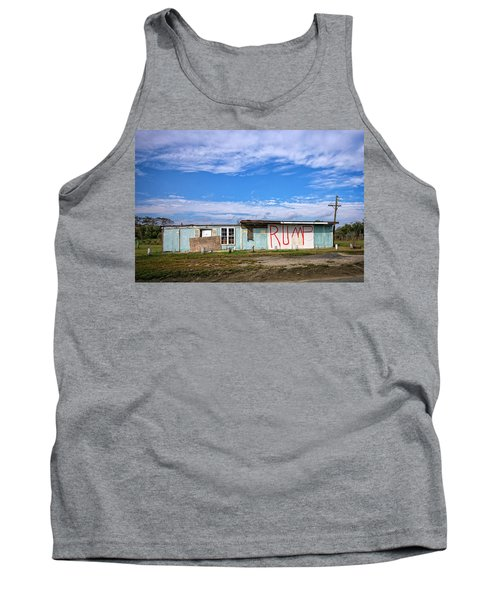 Tank Top featuring the photograph Without A T by Alan Raasch