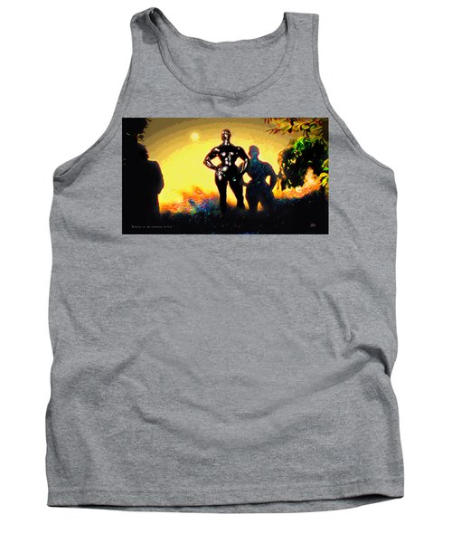 Witness At The Creation Of Eve Aws 2 Tank Top