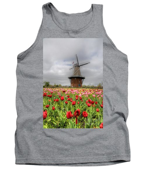 Tank Top featuring the photograph Wjndmill Island 2 by Robert Pearson