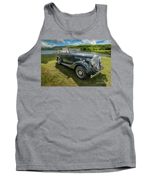 Tank Top featuring the photograph Wolseley Classic Car by Adrian Evans