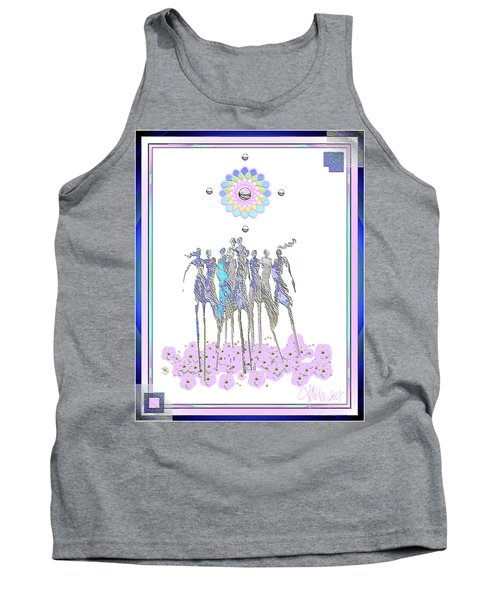 Women Chanting - Pink Full Moon 2017 Tank Top