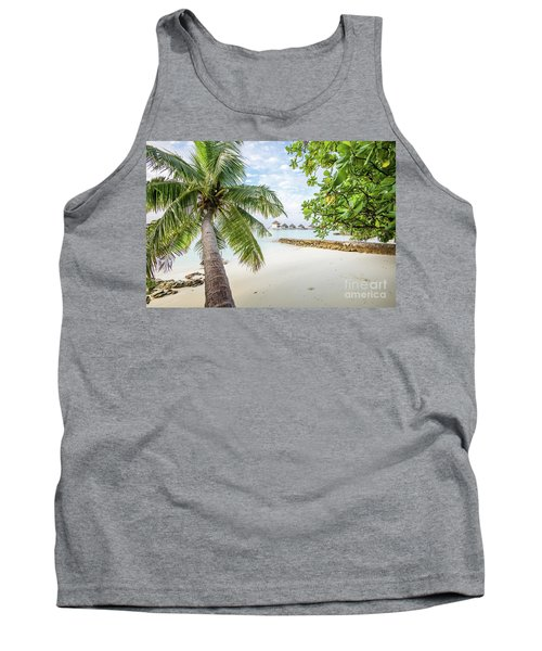 Tank Top featuring the photograph Wonderful View by Hannes Cmarits