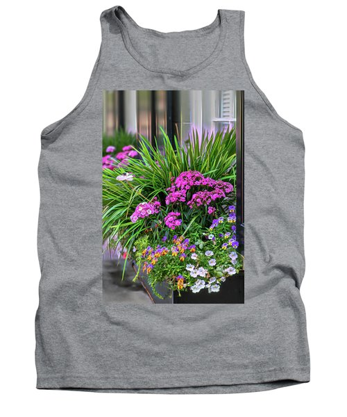 Wonderful Window Boxes Of Charleston Tank Top