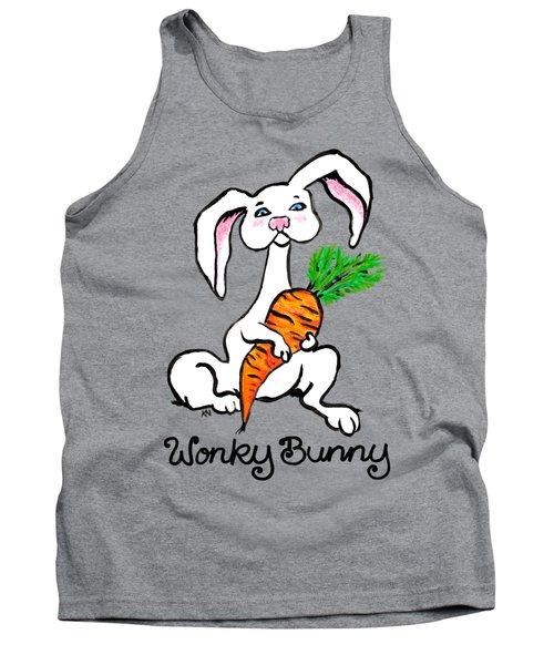 Wonky Bunny Carrot Tank Top