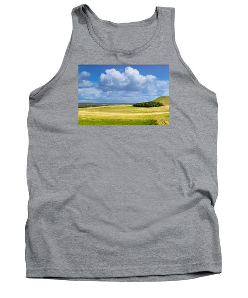 Wood Copse On A Hill Tank Top by John Williams