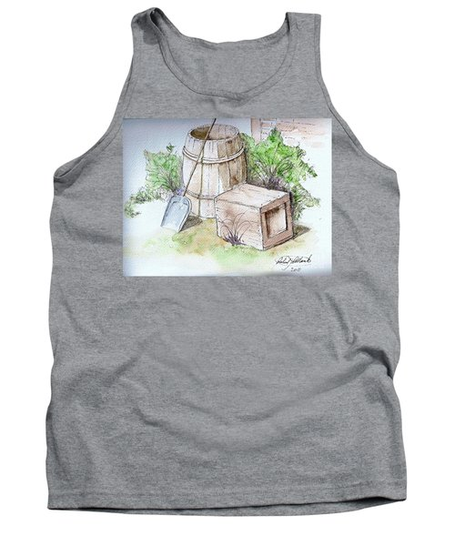 Wooden Barrel And Crate Tank Top