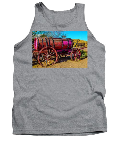 Wooden Water Wagon Tank Top