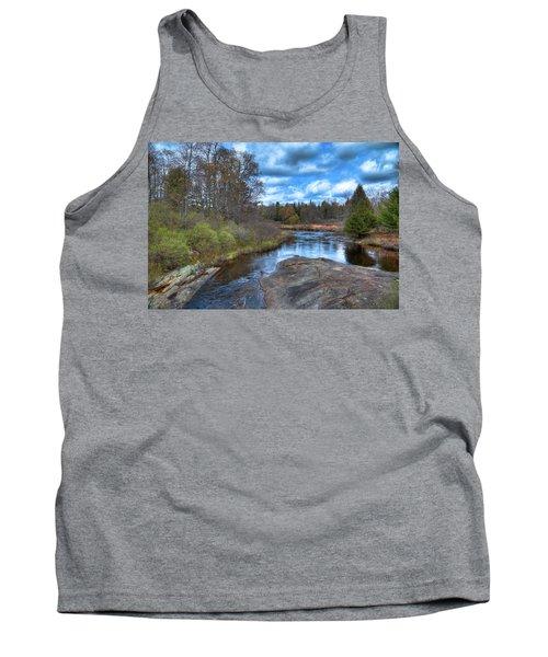 Woodhull Creek In May Tank Top