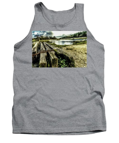 Tank Top featuring the photograph Woodside by Nick Bywater