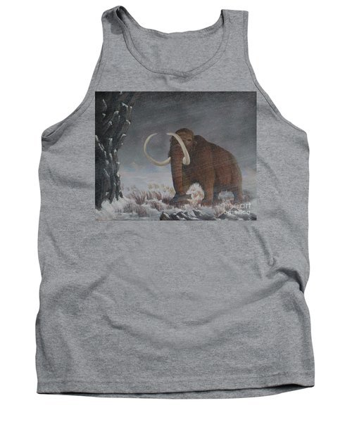 Wooly Mammoth......10,000 Years Ago Tank Top