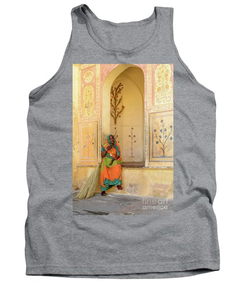 Workers In Amer Fort 01 Tank Top