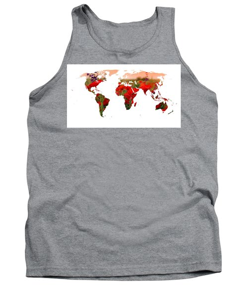 World Of Poppies Tank Top