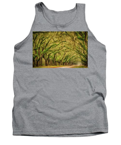 Wormsloe Drive Tank Top by Phyllis Peterson